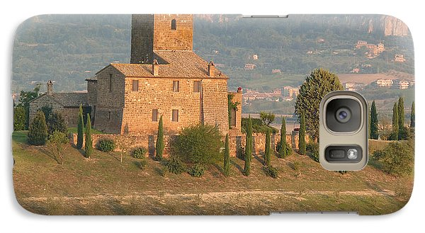 Galaxy Case featuring the photograph Stone Farmhouse by Marcia Socolik