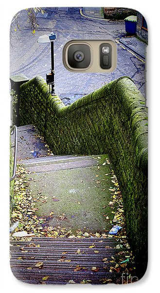 Galaxy Case featuring the photograph Stone Staircase by Craig B