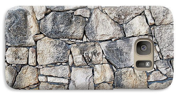 Stone Wall Texture Galaxy Case by Antony McAulay
