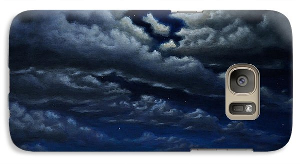 Galaxy Case featuring the painting Stonehenge - The People's Circle by Ric Nagualero