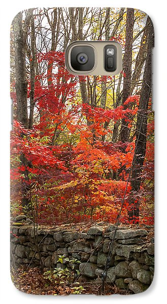 Galaxy Case featuring the photograph Stonewall A Blaze by Dawn Romine