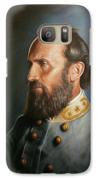 Galaxy Case featuring the painting Stonewall Jackson by Glenn Beasley