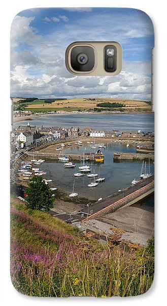 Galaxy Case featuring the photograph Stonhaven Harbour  Scotland by Jeremy Voisey