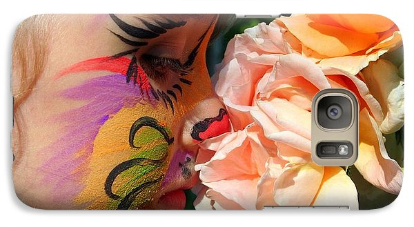 Galaxy Case featuring the photograph Stop And Smell The Roses by Debra Kaye McKrill