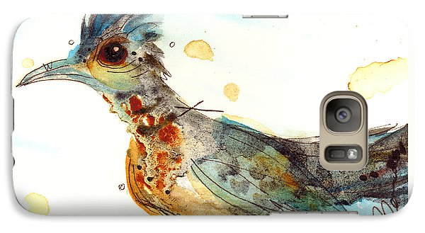 Stop And Smell What? Galaxy Case by Dawn Derman