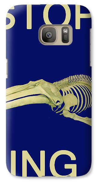 Galaxy Case featuring the photograph Stop Whaling  by Eric Kempson