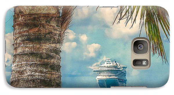 Galaxy Case featuring the photograph Stopover In Paradise by Hanny Heim