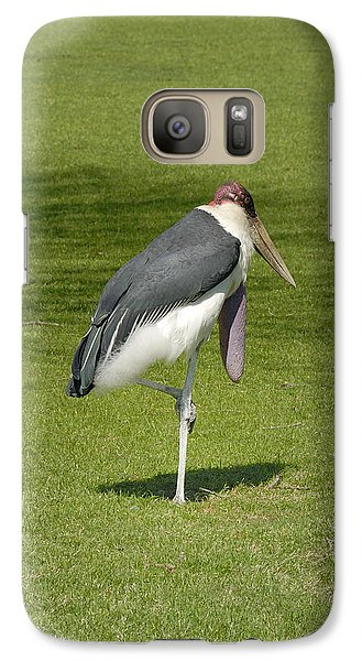 Galaxy Case featuring the photograph Stork by Charles Beeler