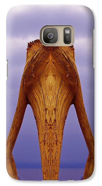 Galaxy Case featuring the photograph Storkwood by WB Johnston