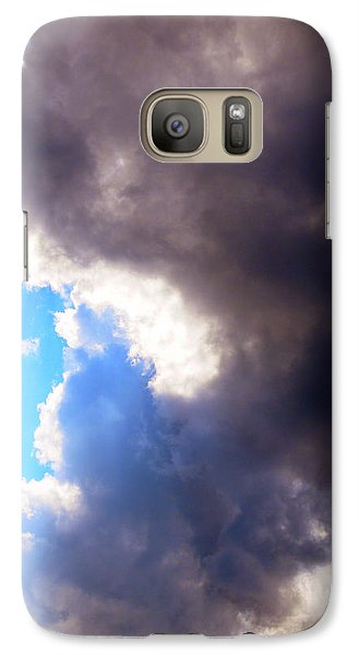Galaxy Case featuring the photograph Storm Brewing by Deborah Fay