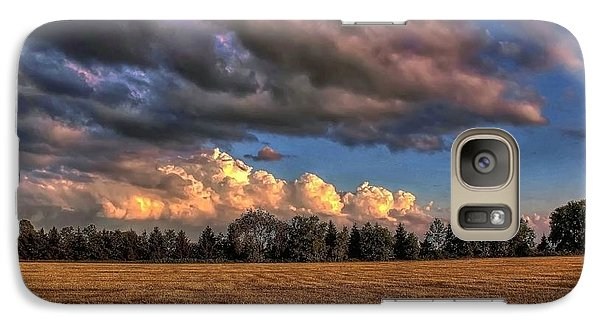 Galaxy Case featuring the photograph Storm Clouds by Michaela Preston