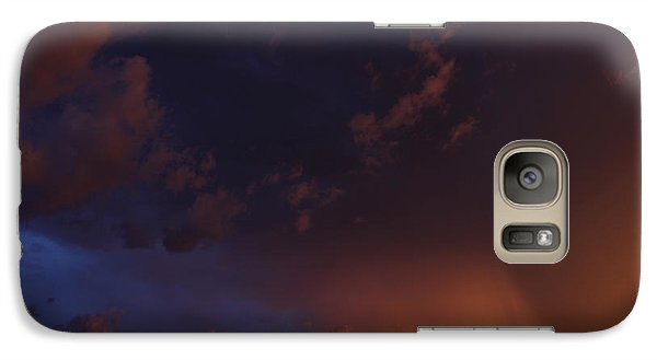 Galaxy Case featuring the photograph Storm Clouds Over Yorkton IIi by Ryan Crouse