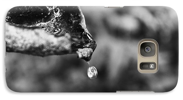 Galaxy Case featuring the photograph Storm Drop by Candice Trimble