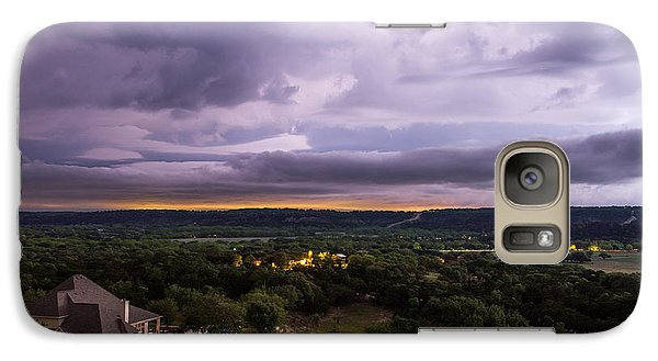 Galaxy Case featuring the photograph Storm In The Valley by Darryl Dalton