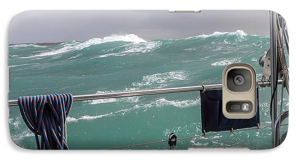 Galaxy Case featuring the photograph Storm On Tasman Sea by Jola Martysz