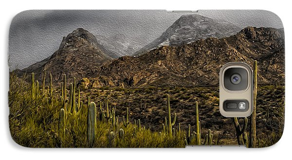 Storm Over Catalinas Aso Galaxy S7 Case