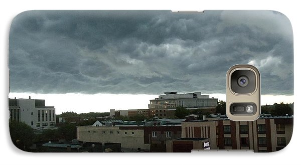 Galaxy Case featuring the photograph Storm Over West Chester by Ed Sweeney