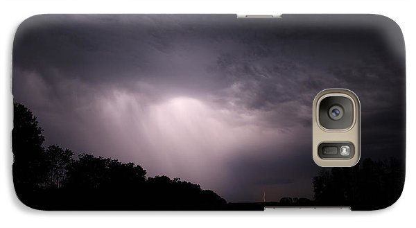 Galaxy Case featuring the photograph Storm Over Wroxton by Ryan Crouse