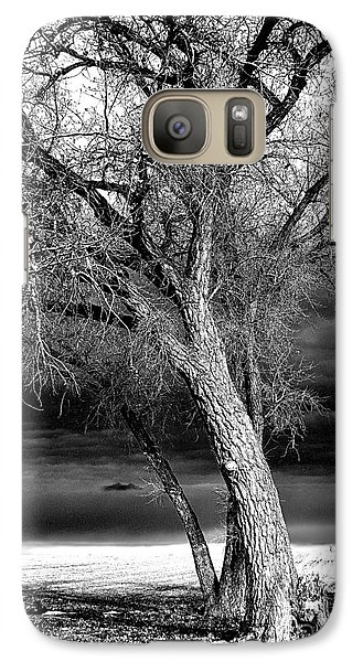 Galaxy Case featuring the photograph Storm Tree by Steven Reed