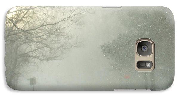 Galaxy Case featuring the photograph Storm Warning  by Deborah DeLaBarre