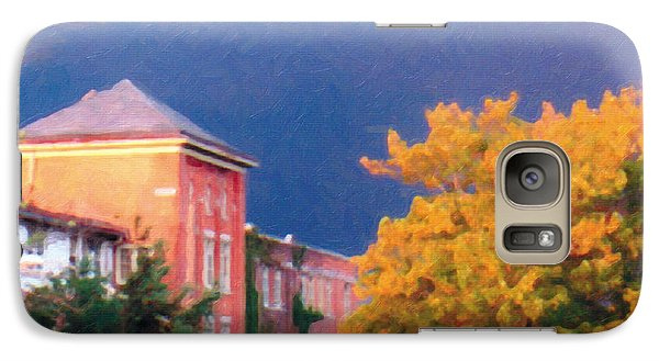 Galaxy Case featuring the photograph Storm Watch by The Art of Marsha Charlebois