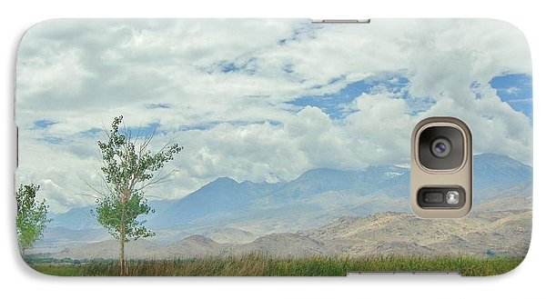 Galaxy Case featuring the photograph Stormin by Marilyn Diaz