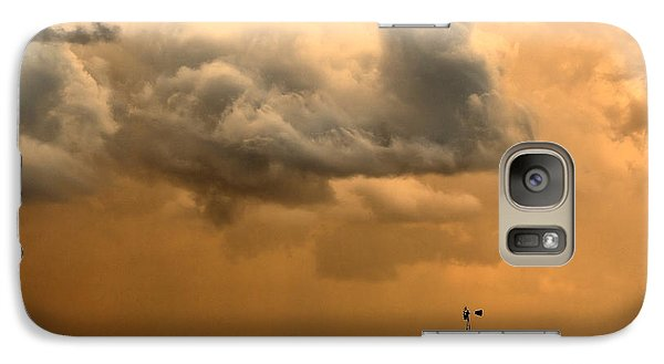Galaxy Case featuring the photograph Storm's A Brewing by Steven Reed