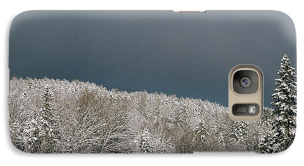 Galaxy Case featuring the photograph Storm's A'brewin' by David Porteus