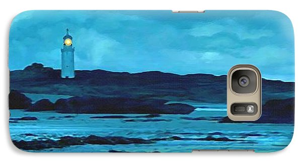 Galaxy Case featuring the painting Storm's Brewing by Sophia Schmierer