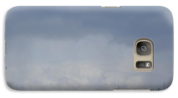 Galaxy Case featuring the photograph Storm's Coming  by Christina Verdgeline