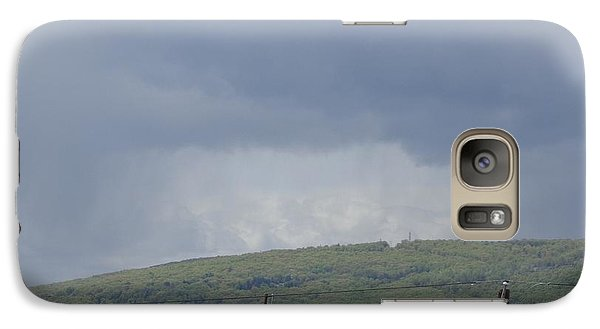 Galaxy Case featuring the photograph Storms Coming Diary by Christina Verdgeline