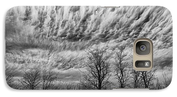 Galaxy Case featuring the photograph Storms To Come by Yvonne Emerson AKA RavenSoul