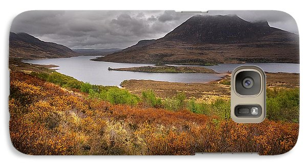 Galaxy Case featuring the photograph Stormy Afternoon In Scotland by Maciej Markiewicz