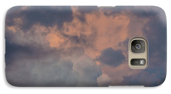 Galaxy Case featuring the photograph Stormy Clouds Viii by Bradley Clay