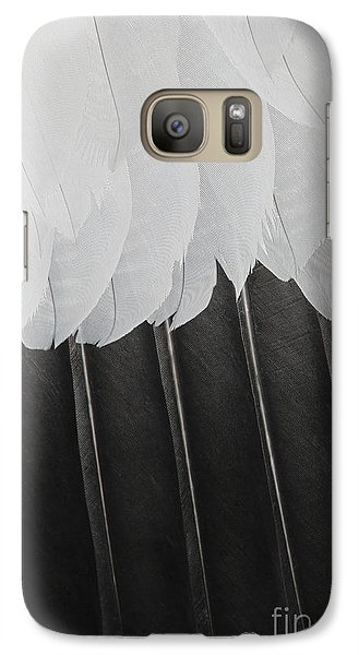 Galaxy Case featuring the photograph Stormy Feathers by Judy Whitton