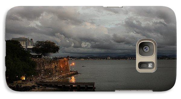 Galaxy Case featuring the photograph Stormy Puerto Rico  by Georgia Mizuleva