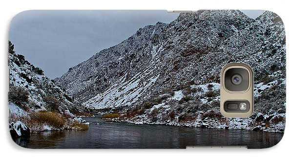 Galaxy Case featuring the photograph Stormy River by Atom Crawford