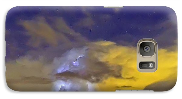 Galaxy Case featuring the photograph Stormy Stormy Night by Charlotte Schafer