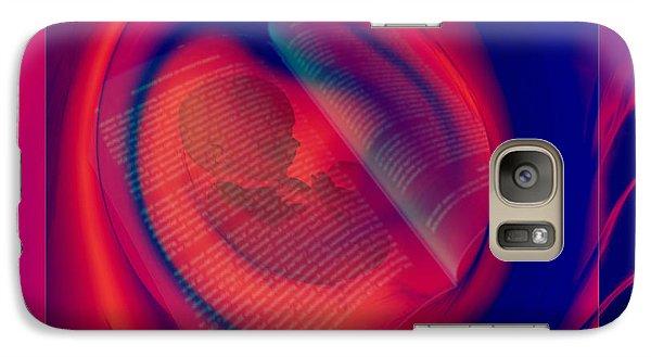 Galaxy Case featuring the digital art Story Of Life by Erhan OZBIYIK