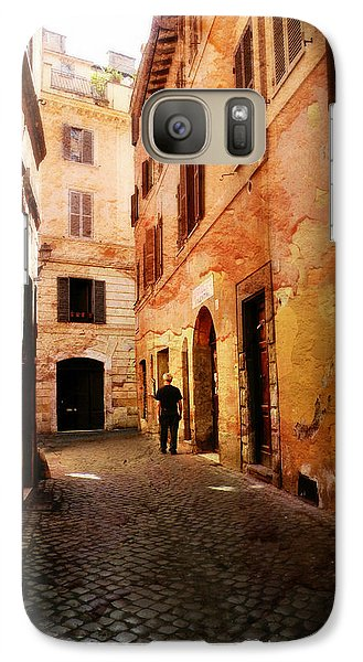 Galaxy Case featuring the photograph Strade Di Ciottoli by Micki Findlay