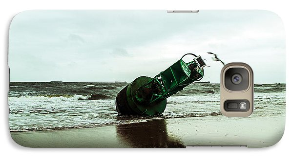 Galaxy Case featuring the photograph Stranded by Angela DeFrias