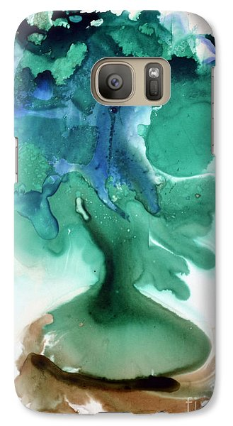 Galaxy Case featuring the painting Strange Compote by Joan Hartenstein