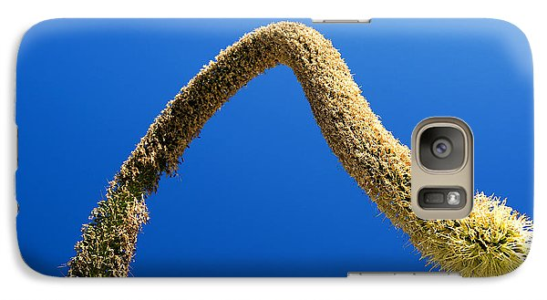 Galaxy Case featuring the photograph Strange Plant Under Blue Sky by Yew Kwang