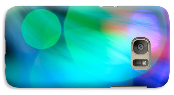 Galaxy Case featuring the photograph Strangers In The Night by Dazzle Zazz