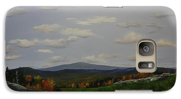 Galaxy Case featuring the painting Stratton View by Ken Ahlering