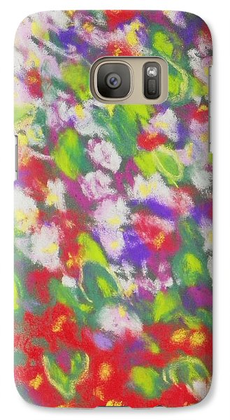 Galaxy Case featuring the photograph Strawberry Begonias II by Shirley Moravec