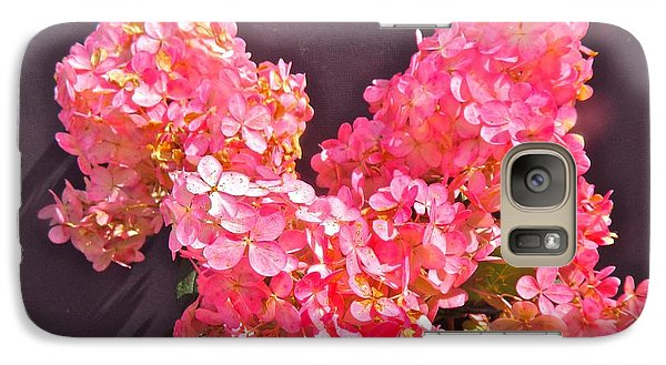 Galaxy Case featuring the photograph Strawberry Cream by Randy Rosenberger