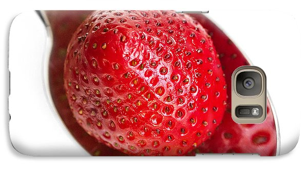 Strawberry Puddle Galaxy S7 Case