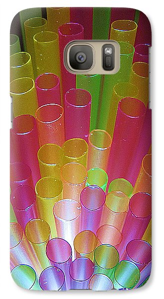 Galaxy Case featuring the photograph Straws II by John King