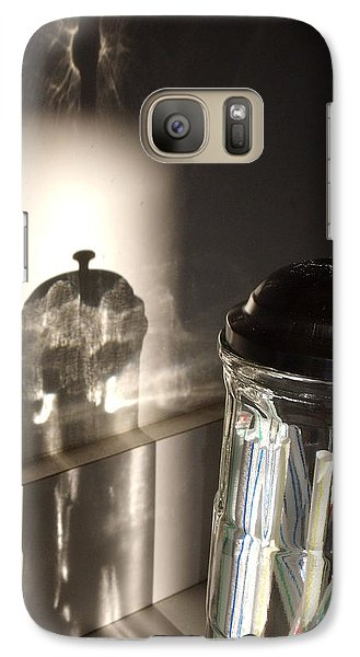 Galaxy Case featuring the photograph Straws by Lyric Lucas